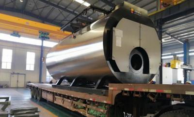 10吨30mg一体冷凝蒸汽锅炉出厂