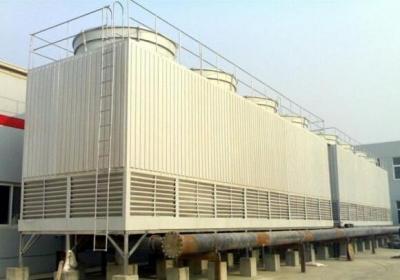 方型流式冷却塔