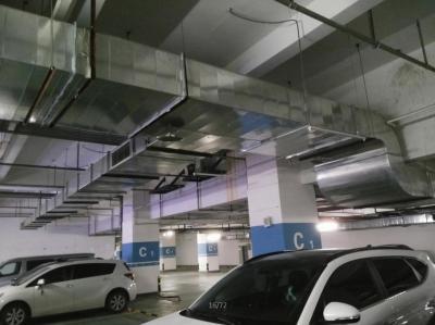 地下室通风管道