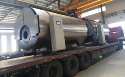 2台4.2MW常压热水锅炉发往新疆阿克苏
