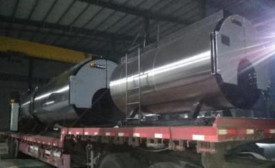 3台4.2MW常压热水锅炉发往包头