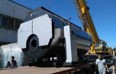 4吨蒸汽锅炉吊装