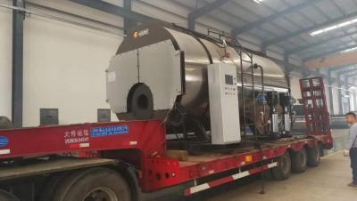 6吨30mg蒸汽锅炉装车发往北京