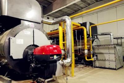 超低氮锅炉改造用户现场