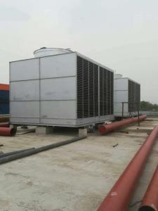 全钢结构冷却塔设备成型